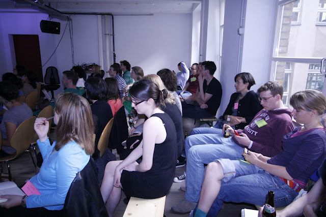 Participants of the first OTS Beginners Meetup