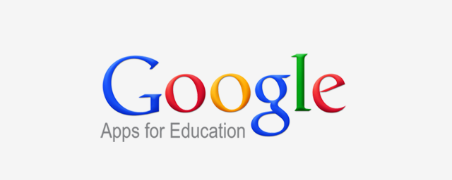 We are supported by Google Apps for Education