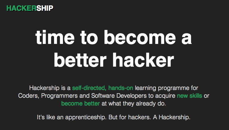 OpenTechSchool Berlin goes full time: announcing the first Hackership programme